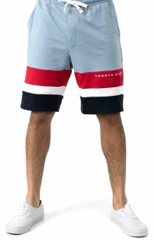 Modern Essentials French Terry Short - Dusty Blue
