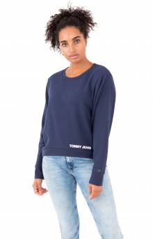 (DW04518) Tommy Sweatshirt - Black Iris