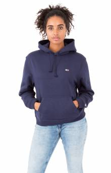 (DW04530) Tommy Classic Pullover Hoodie - Black Iris