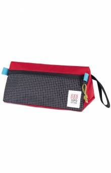 Dopp Kit - Red/Black Ripstop