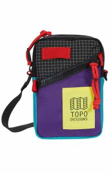 Mini Shoulder Bag - Purple/Black Ripstop