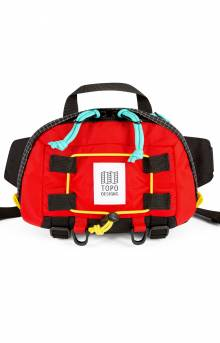 Subalpine Hip Pack - Red/Black Ripstop