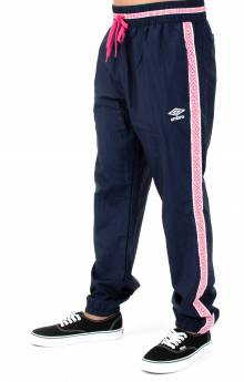 Taped Sweatpant - Navy/Hot Pink