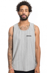 Undefeated Clothing, Pinstripe Tank Top - Grey