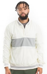 Undefeated Nylon Pullover - White