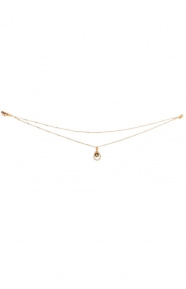 The Morrison Double Chain Choker - Gold