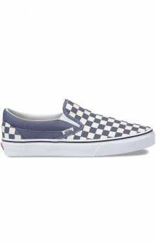 (38F7ULK) Checkerboard Classic Slip-On Shoe - Grisaille