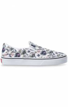 (3TB30R) Paradise Floral Classic Slip-On Shoes - True White