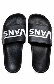 (4KIIX6) Slide-On Sandals - Vans Black