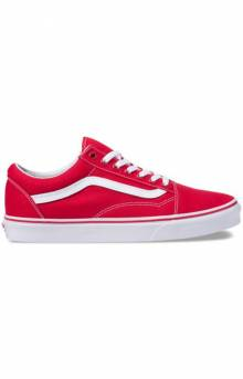 (4OJGYK) Canvas Old Skool Shoe - Red