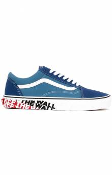 (8G1VR1) OTW Sidewall Old Skool Shoe - True Navy