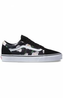 (8G1VRK) Romantic Floral Old Skool Shoe - Sailor