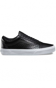 Armor Leather Old Skool DX Shoe - Black