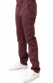 Authentic Chino Stretch Pant - Port