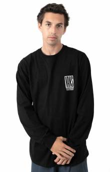 Blocked In L/S Shirt - Black