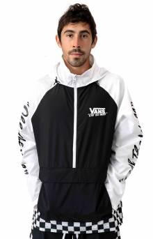 BMX Off The Wall Anorak - Black/White