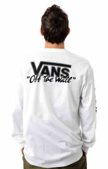 BMX Off The Wall L/S Shirt - White
