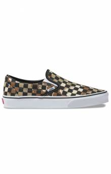 (BV3V4P) Checkerboard Classic Slip-On Shoe - Desert Camo
