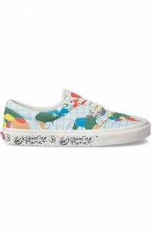 Vans, (BV4T2V) Save Our Planet Era Shoe - Classic White/Multi