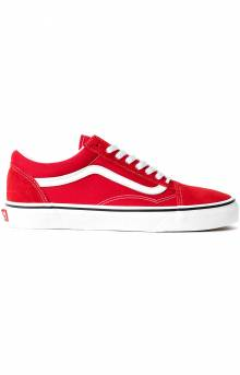 (BV5JV6) Old Skool Shoe - Racing Red