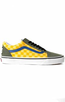 (BV5VZN) OTW Rally Old Skool Shoe - Checker/Multi