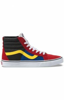 (BV8XKR) OTW Rally Sk8-Hi Reissue Shoe - Chili Pepper/True White