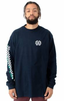 Check It L/S Shirt - Navy