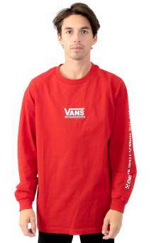Checkmate L/S Shirt - Racing Red