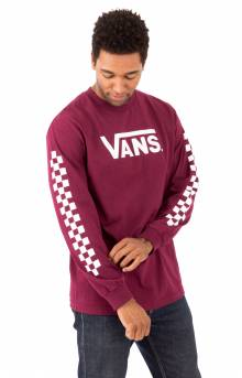 Classic Checks L/S Shirt - Burgundy