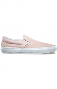 Classic Suede Slip-On Shoe - Sepia Rose