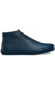 Court Mid DX Leather Shoe - Midnight