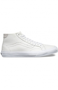 Vans Clothing, Court Mid DX Leather Shoe - White