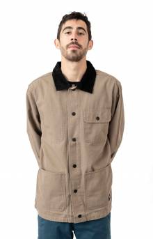 Drill Chore Coat Jacket - Military Khaki