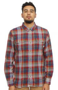 Elm Button-Up Shirt - Redrum