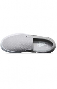 Vans Clothing, Embossed Woven Suede Classic Slip-On Shoe - Microchip