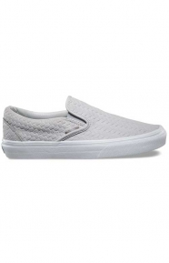 Embossed Woven Suede Classic Slip-On Shoe - Microchip