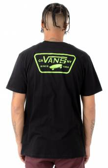 Full Patch Back T-Shirt - Black/Green
