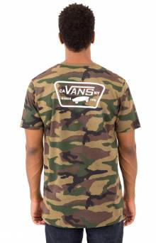 Full Patch Back T-Shirt - Camo/White