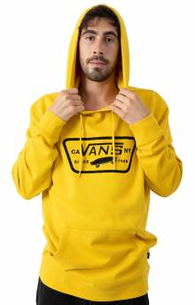 Full Patch Stitch Pullover Hoodie - Sulphur