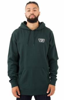 Full Patched Pullover Hoodie - Darkest Spruce