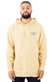 Full Patched Pullover Hoodie - New Wheat