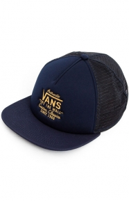 Galer Trucker Hat - Dress Blue