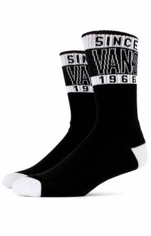 High Type Crew Socks - Black