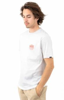 Holder Street II T-Shirt - White/Emberglow