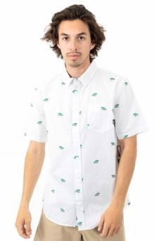 Houser Button-Up Shirt - Palm Ditsy