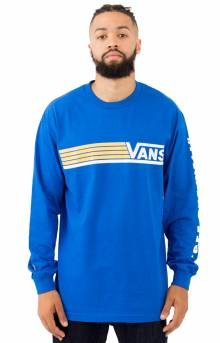 Lined Up L/S Shirt - Royal