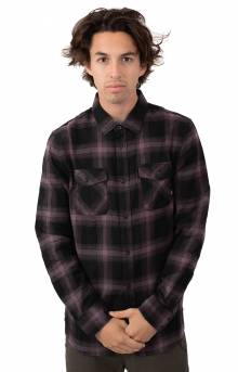Monterey III Button-Up Shirt - Black/Black
