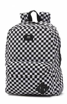 Old Skool II Backpack - Black/White Checkerboard