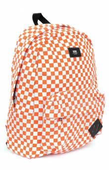 Old Skool II Backpack - Emberglow Checker