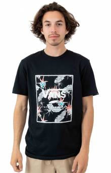 Print Box T-Shirt - Black